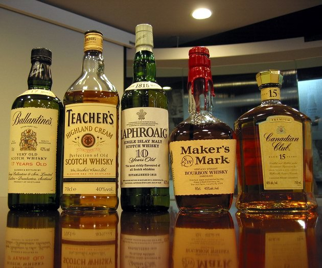 whisky brands